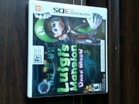 "Nintendo 3DS"" LUIGI'S MANSION"""