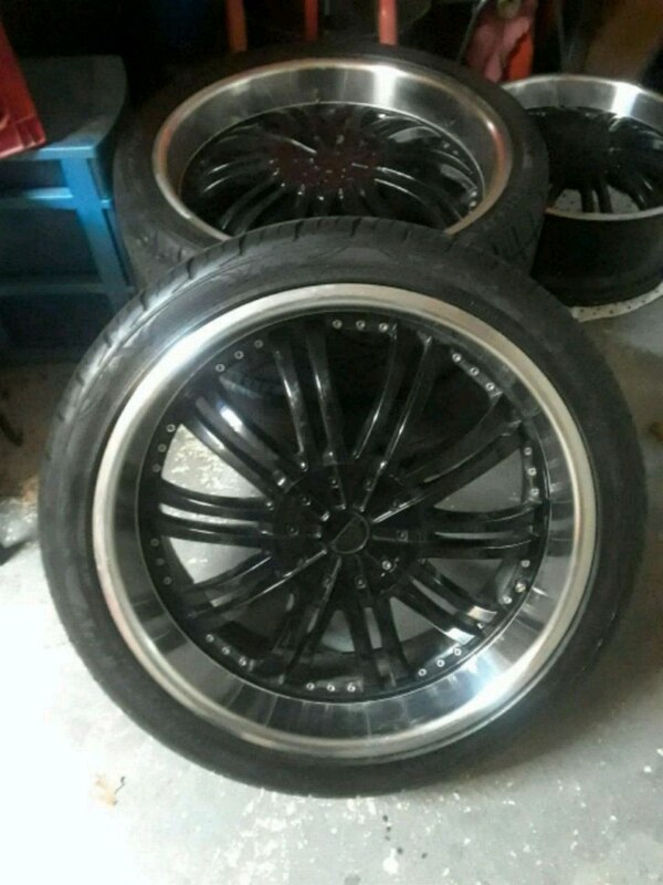 Used 4 Used 22 Inch Rims And Tires For Sale In Richardson Letgo