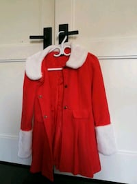 women's red trench coat Toronto, M2M 0A2