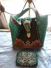 Hand bag and wallet