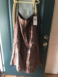 New brown skirt size 16 Gaithersburg, 20879