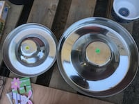 Puppy feeder bowls large and small  Abbotsford, V3G