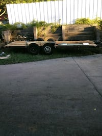 black and brown utility trailer Fort Worth
