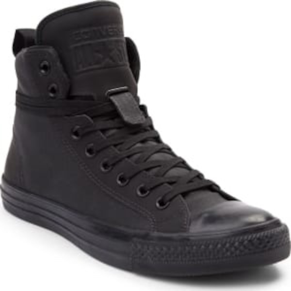 Used CHUCK TAYLOR ALL STAR HI CORE BLACK MONO LEATHER 144662C UNISEX  CONVERSE SZ 6 for sale in Vancouver 0a464056c