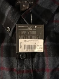 eddie bauer  large classic fit never worn half off retail price. Mount Airy, 21771