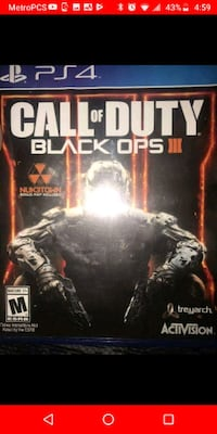 Call of Duty Black ops 3 PS4 Nicholasville, 40356