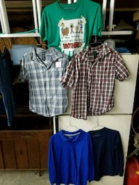 Young boys size 18 shirts