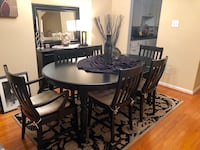 Dining Room Set by Pottery Barn 6 Chairs All Inclusive See Details