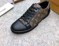 NEW MENS LOUIS VUITTON MONOGRAM LOWTOP SHOES Toronto