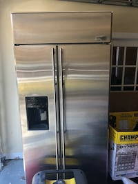 stainless steel side-by-side refrigerator with dispenser Fredericksburg, 22407