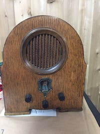 brown wooden transistor radio Vaughan, L6A 1A8