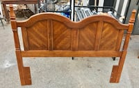Full size Midcentury bed headboard