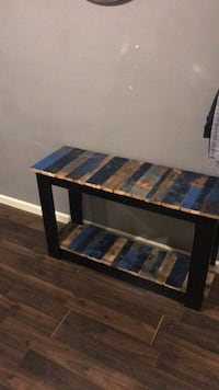 black and brown wooden coffee table Omaha, 68117