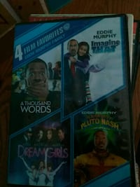 two assorted DVD movie cases Evansville, 47712