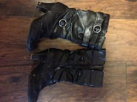 Pair of black leather boots Lucan Biddulph, N0M 2J0