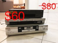 All 3 pieces - vcr & dvd player Markham, L3S 3S7