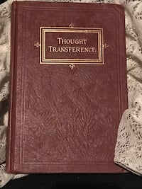 1950 Thought Transference Book Yuma, 85364