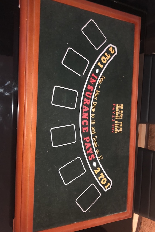 Blackjack table, Roulette and more 1