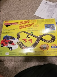 Corvette Slot car racing track