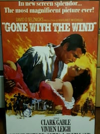 Wall poster Gone with the wind  Toronto, M6A 1E2