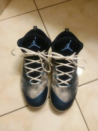 pair of blue-and-black Nike running shoes San Diego, 92123