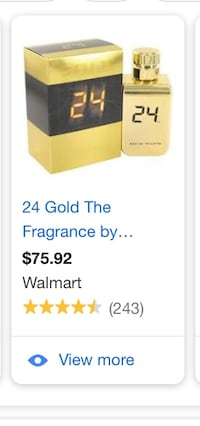 24 Gold Cologne