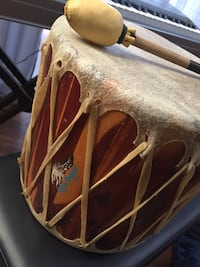 Hand made Native American Drum