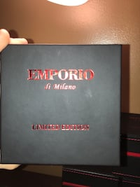 Silver Emporio watch Barrie, L4N 6X8