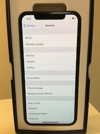 (PRICE IS FIRM) (CARRIER UNLOCKED IPHONE X 64GB???? Washington, 20003