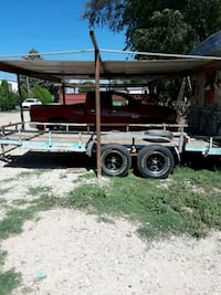 black and brown utility trailer Lubbock, 79423