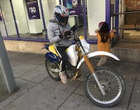 Suzuki 250 4 stroke dirt bike Capitol Heights, 20743