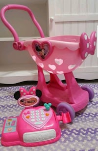 Minnie Mouse Cart With Minnie Talking Register $25 Henderson, 89074