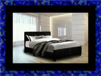 Twin platform bed with mattress McLean