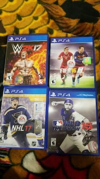 PS4 Games  Chestermere, T1X 1N2