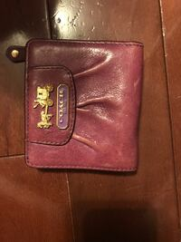 Purple coach wallet  Bradford, L3Z 2M2