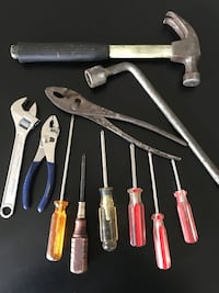"Various household tools - including 8"" crescent wrench and different size screwdrivers Spokane, 99205"