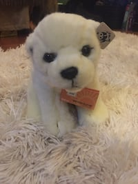WWF plush polar bear