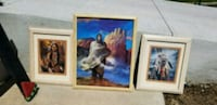 Native american framed picture set Clinton, 84015