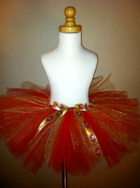red and gold tutu skirt Toronto, M6M 2A3