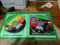two Xbox One game discs Chilhowie, 24319