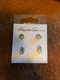 Brand new Kenneth Cole earrings .