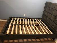 Double bed frame  Toronto, M1K 3N4