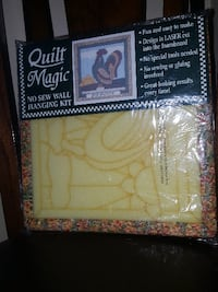 CRAFTERS: *NO SEW ROOSTER Quilting Wall Plaque   J Edmonton