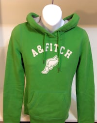 Abercrombie & Fitch Green Hooded Sweater: Women's Size XS Toronto, M6G 4A1
