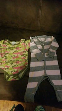 Girls size 6-9 months sleeper and onsie Murfreesboro, 37127