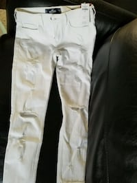 White Hollister skinny Jeans Woodbridge, L4H