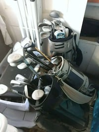 All 3 set of golf clubs with golf bag  Eastvale, 91752