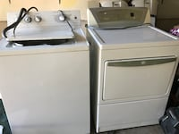 white washer and dryer set Clearfield, 84015