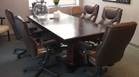 Attractive conference table BLADENSBURG