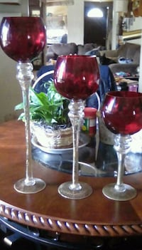 3 decoration wine glasses Springfield, 49037